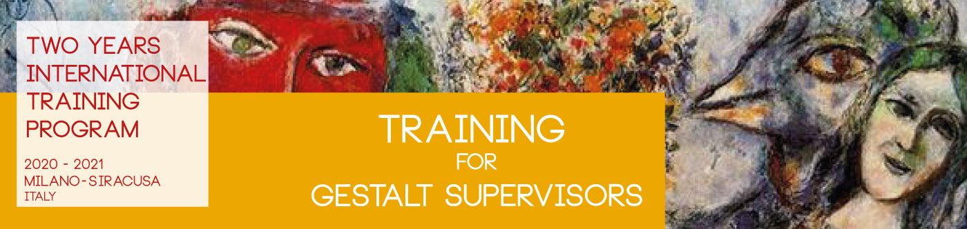 Training for Gestalt Supervisors Acredited by EAGT Home
