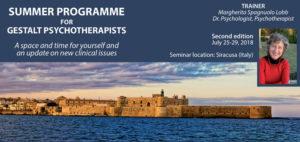 Summer Programme for Gestalt Psychoterapists