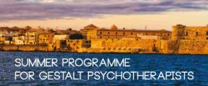 Summer Programme for Gestalt Psychoterapists Margherita Spagnuolo Lobb Home