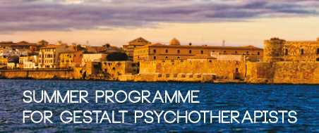 Summer Programme for Gestalt Psychoterapists Margherita Spagnuolo Lobb Home