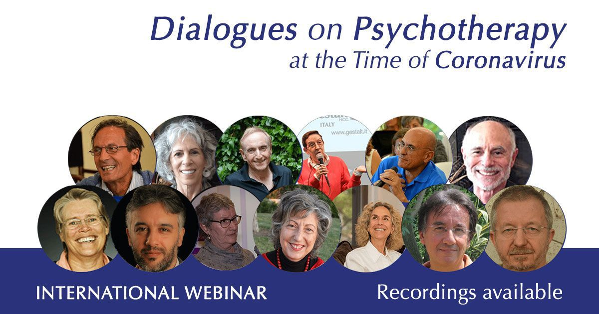 Webinar Psychotherapy Dialogues at the Time of Coronavirus