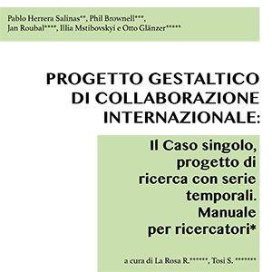 Single case research il caso singolo progetto di ricerca con serie temporale manuale per ricercatori